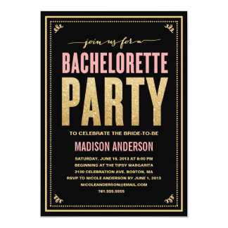 Shop Zazzle's selection of bachelorette party invitations for your special day!