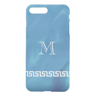 Schimmerndes blaues griechisches iPhone 7 plus hülle