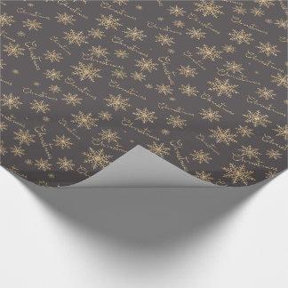 Schimmernweihnachten Geschenkpapier
