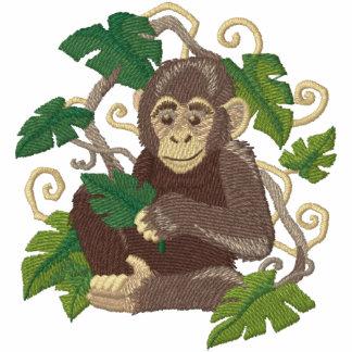 Schimpanse-Dschungel-Baby