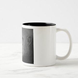 Schimpanse-Tasse Zweifarbige Tasse
