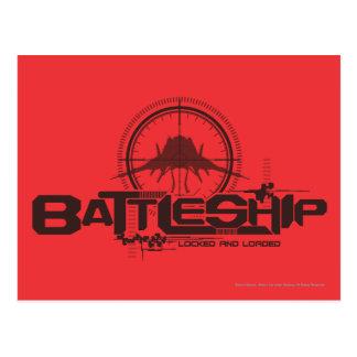 Schlachtschiff Marine10 Postkarte