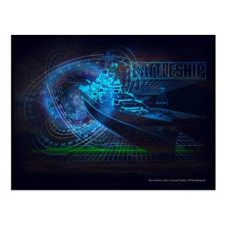 Schlachtschiff Marine1 Postkarte