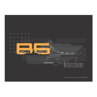 Schlachtschiff Marine5 Postkarte
