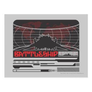 Schlachtschiff Marine7 Postkarte