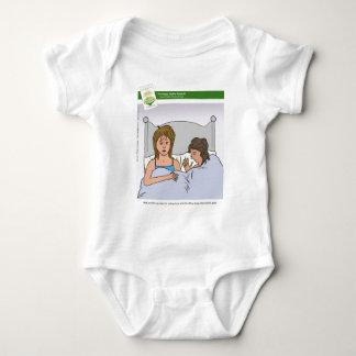 Schlaf-Entzug mit Buch Baby Strampler