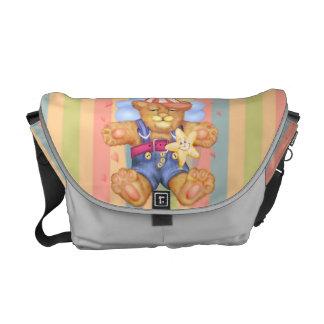 SCHLAFENbärn-BABY Rickshaw-MITTLERE Bote-Tasche Kurier Taschen
