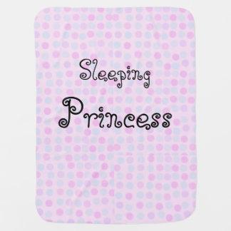 Schlafende Prinzessin Baby Blanket Puckdecke