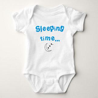 Schlafende Zeit Baby-Bodysuit Baby Strampler
