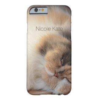 Schlafenkatzen-Monogramm Barely There iPhone 6 Hülle