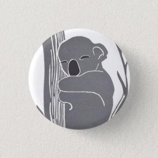 Schlafenkoala-Knopf Runder Button 2,5 Cm