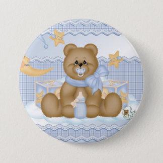 Schlafenszeit-Teddybär-Knopf Runder Button 7,6 Cm