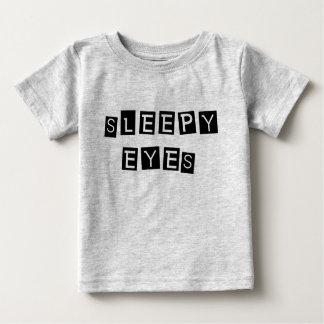 Schläfrige Augen Baby T-shirt