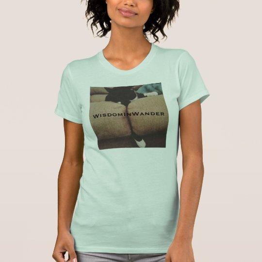 Schläfriger Kitty-T - Shirt