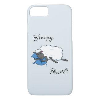 Schläfriger Sheepy Telefon-Kasten iPhone 8/7 Hülle