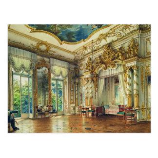 Schlafzimmer des Zars Alexander I Postkarte