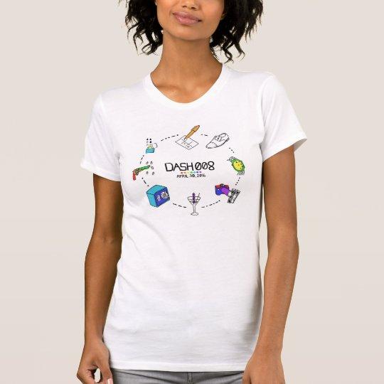 SCHLAG 008 das kurzärmlige T-Stück Frauen T-Shirt