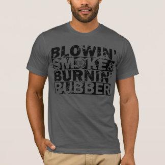 Schlag-Rauch, Brand-Gummi T-Shirt