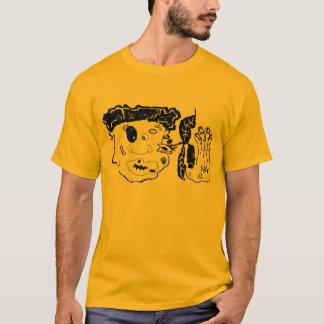 schlagen Sie oben grafische Kunst T-Shirt