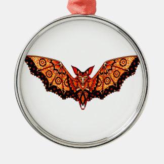 Schläger 1 rundes silberfarbenes ornament