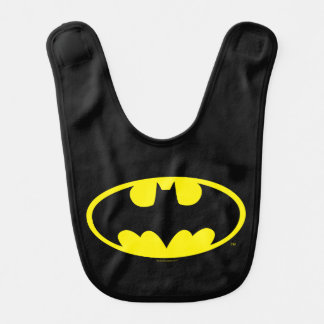 Schläger-Oval-Logo Batman-Symbol-| Lätzchen