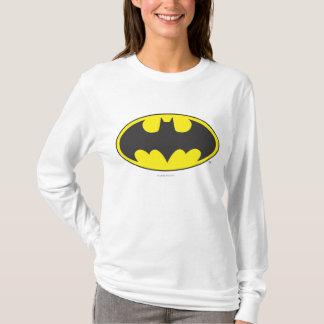 Schläger-Oval-Logo Batman-Symbol-| T-Shirt