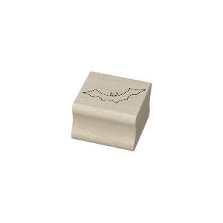 Schlägerillustrations-Kunst-Briefmarke Gummistempel
