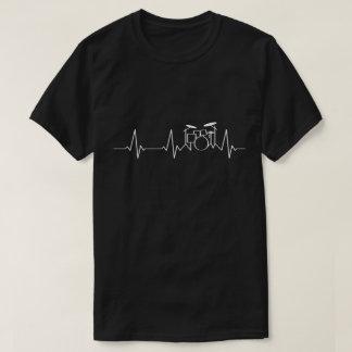 Schlagzeuger-Herzschlag   meine Herz-Schläge für T-Shirt
