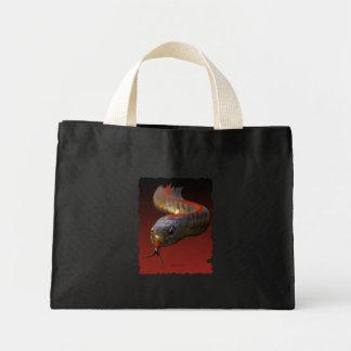 Schlangen-Haupttier-Sammlung Mini Stoffbeutel
