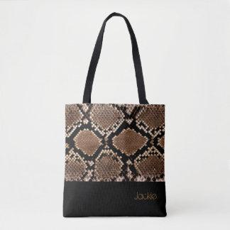Schlangen-Haut-Sammlungs-Taschen-Tasche Tasche