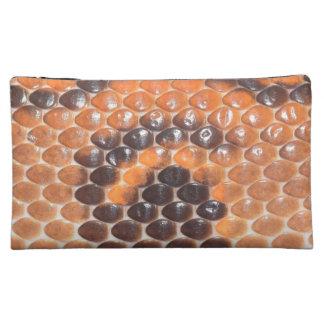 Schlangen-Hautdruck Kosmetiktasche
