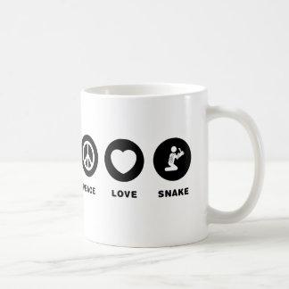 Schlangen-Liebhaber Kaffeetasse
