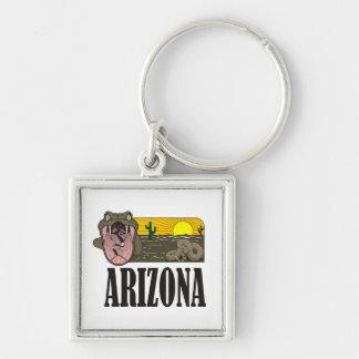 Schlangen-Staat von Arizona USA: Klapperschlange Schlüsselanhänger