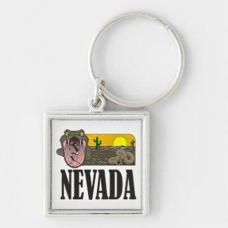 Schlangen-Staat von Nevada USA: Klapperschlange Schlüsselanhänger
