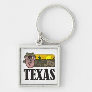 Schlangen-Staat von Texas, USA: Klapperschlange Schlüsselanhänger