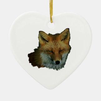Schlaues kleines keramik Herz-Ornament