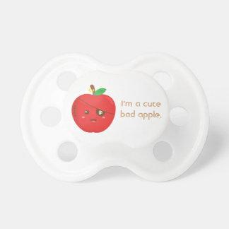 Schlechte Äpfel können niedlich auch sein Schnuller