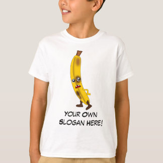 Schlechte Banane mit kundengerechtem Slogan T-Shirt
