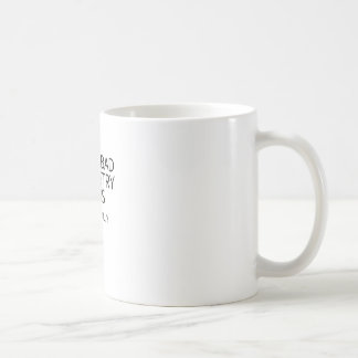 schlechte Chemie Kaffeetasse