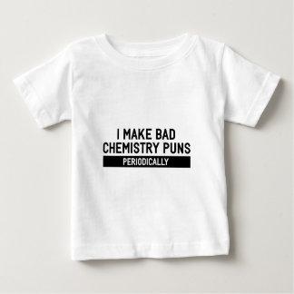 Schlechte Chemie-Wortspiele Baby T-shirt