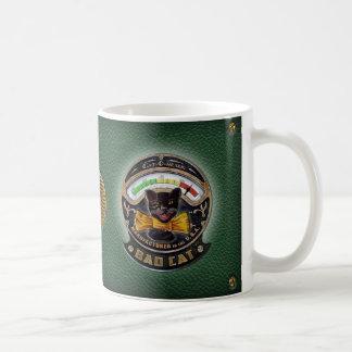Schlechte Katzen-Lautsprecher-Tasse Kaffeetasse