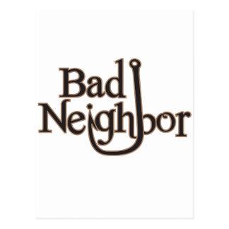 Schlechte Nachbarlogo-Einzelteile Postkarte