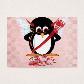 Schlechte Pinguin-Valentinsgrußkarten Visitenkarte