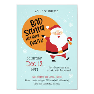 Schlechte Sankt-Feiertags-Party Einladung