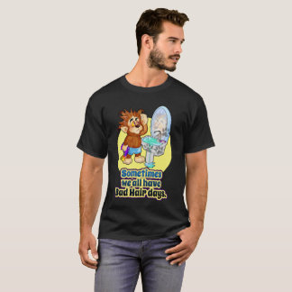 Schlechter Haar-TagesT - Shirt