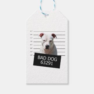 Schlechter Hund Geschenkanhänger