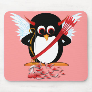 Schlechter Pinguin OOPS! Valentinsgruß Mousepads