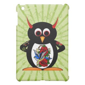 Schlechter Pinguin tätowierter Pinguin iPad Mini Hülle
