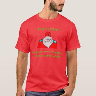 Schlechter Sankt Gedanken auf der T-Shirt
