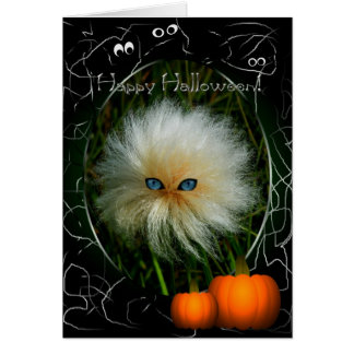 Schlechter Tag Halloween Grußkarte